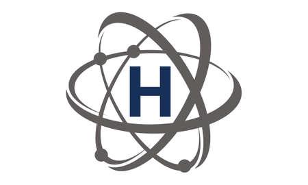 Atom Initial H Illustration