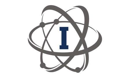 Atom Initial I Ilustração