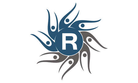 Community Social Initial R logo