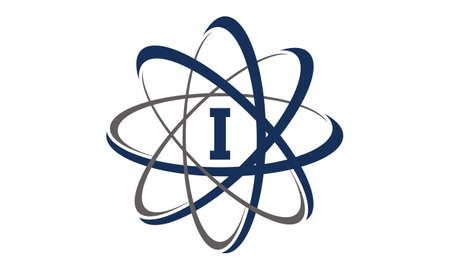 Atom Initial I Illustration