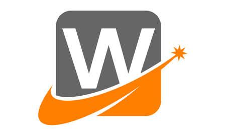 property management: Modern Logo Solution Letter W
