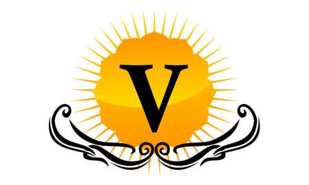 Modern Logo Solution Letter V