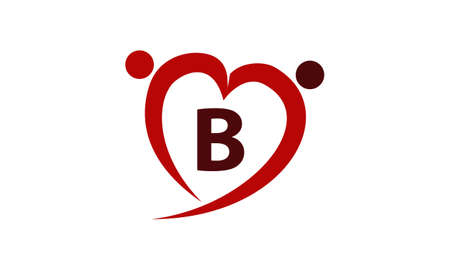 safe water: Love Initial B
