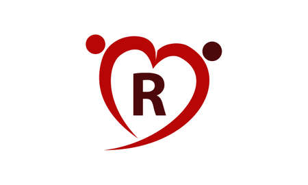 safe water: Love Initial R