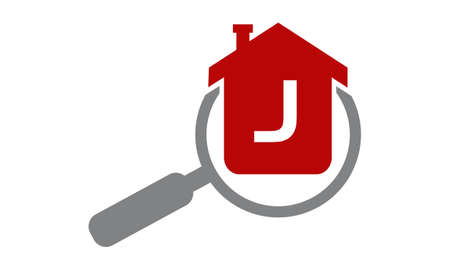 Home Searching Agent Initial J Illustration