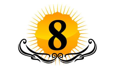 Modern Logo Number 8