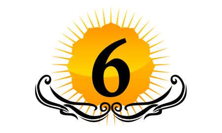 Modern Logo Number 6
