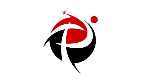 Modern Logo Solution Letter P