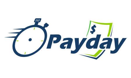 Illustrazione di giorno di paga Vettoriali