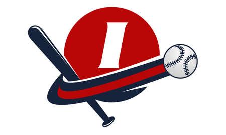 Base Ball Letter I