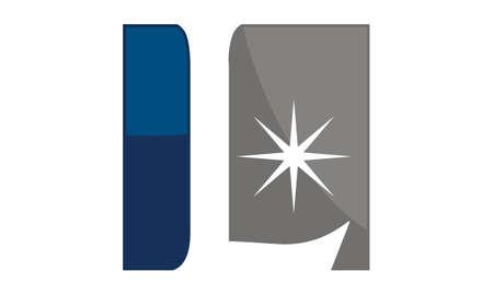 Star Swoosh Letter L