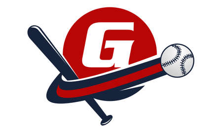 Base Ball Letter G Illustration