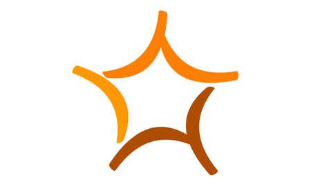 best wishes: Star Logo Template Illustration