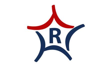 Star Letter R