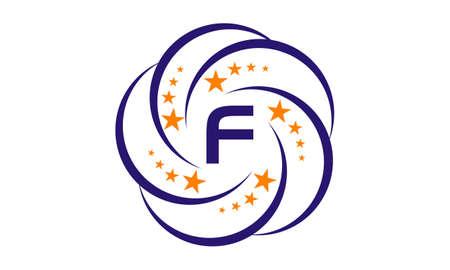 Star Swoosh Initial F