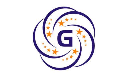 Star Swoosh Initial G