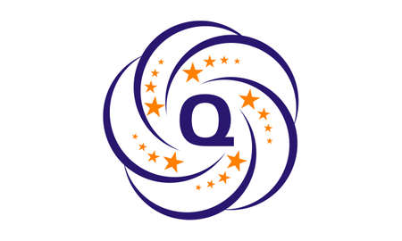 Star Swoosh Initial Q