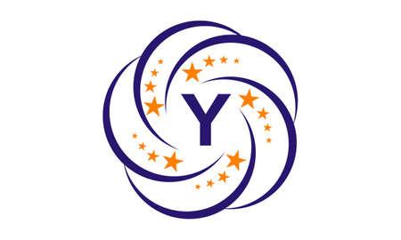Star Swoosh Initial Y