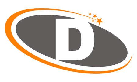 Logo Lettre D Banque d'images - 78618506