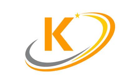 Modern Logo Solution Initial K