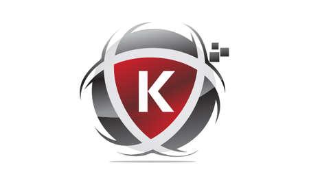 Technology Motion Synergy Letter K