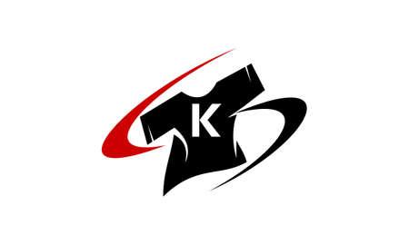 T-Shirt On line Shop Initial K
