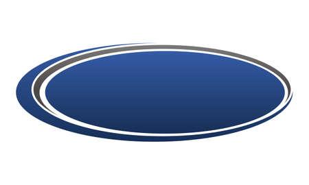 Template Emblem Blank 向量圖像