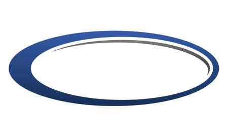 Template Emblem Blank Stock Illustratie