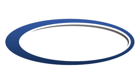 Template Emblem Blank Ilustrace
