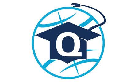 initial cap: World Education Letter Q