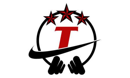 Fitness Stars Letter T