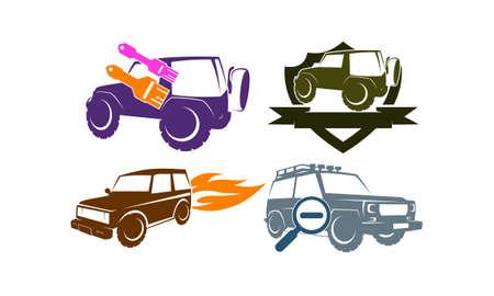 Adventure Car Set Collections