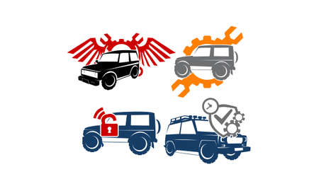 offroad car: Adventure Car Set Collections
