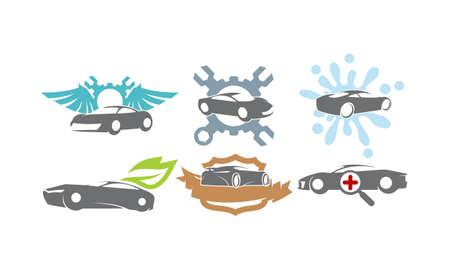 Car Service Set Bundle Collection