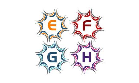 Star Swoosh Solution Initial E F G H