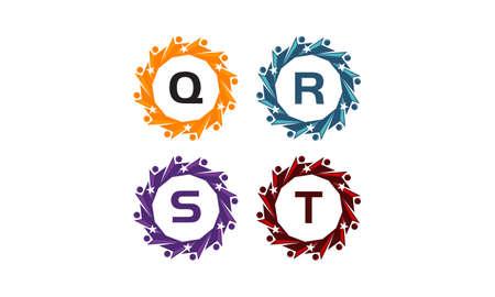 Success Life Coaching Letter QRST Banque d'images - 78823626
