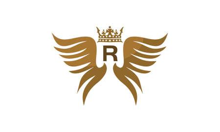 翼の盾の王冠初期 R