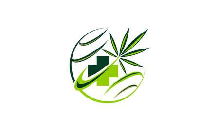 Medical Herbal vector Illustration