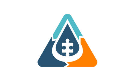 Oil Water Solution icon.