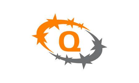 Letter Q icon design.