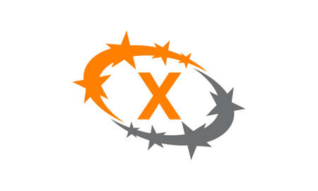 Swoosh Success Coaching Initial X logo