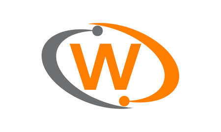 Technology Solutions Initial W logo