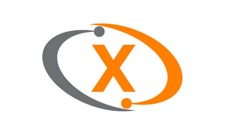 Technology Solutions Initial X logo