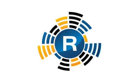 Sound Service Production Letter R. Çizim