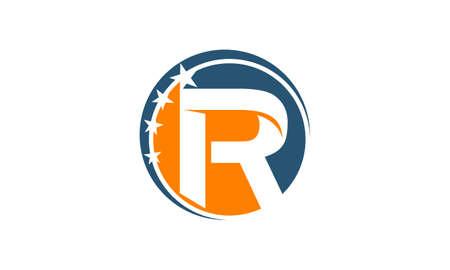 Swoosh Success Coaching Initial R Banque d'images - 89254182