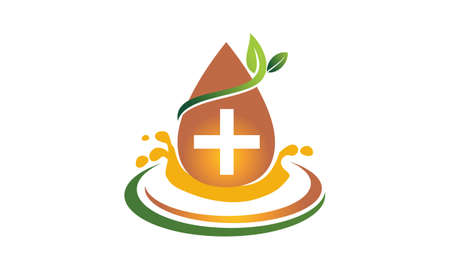 leaf logo: Leaf and Water Health