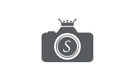 king s: Best Photography Service Letter S Illustration