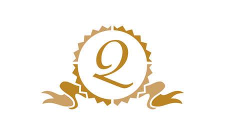 Quality Letter Q logo Illustration