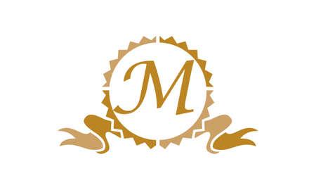 Quality Letter M logo Illustration
