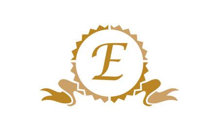 Quality Letter E logo